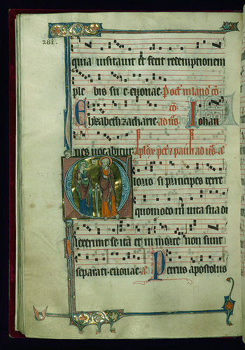 History of Musical Notation, How to write chants